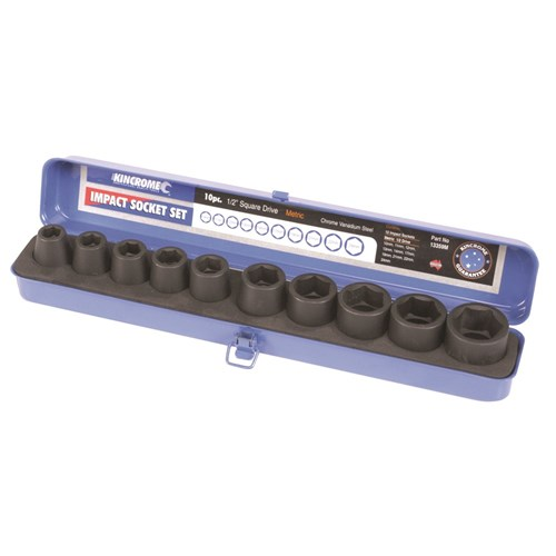 AIR IMPACT SOCKET SET 10 PIECE 12 DRIVE 1