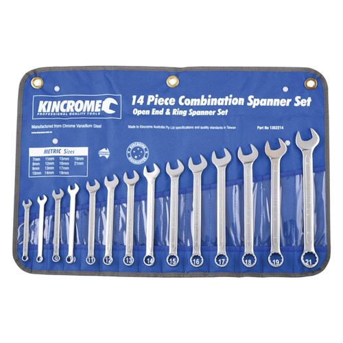 COMBINATION SPANNER SET 14 PIECE 1