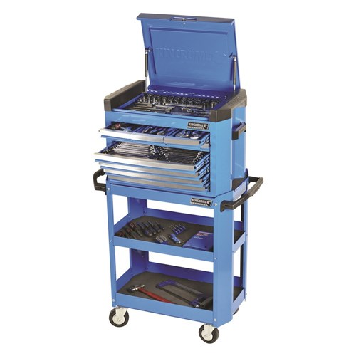 CONTOUR TOOL CART KIT 208 PIECE 14, 38 & 12 DRIVE 1