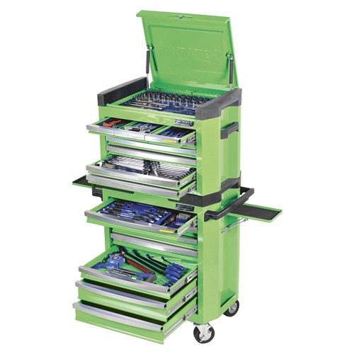 CONTOUR TOOL WORKSHOP 228 PIECE 14, 38 & 12 DRIVE (green) 1