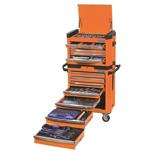 CONTOUR TOOL WORKSHOP 329 PIECE 14, 38 & 12 DRIVE (orange) 1