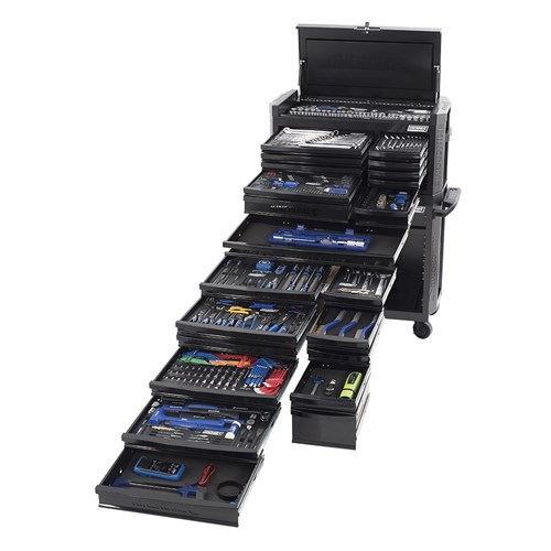 CONTOUR TOOL WORKSHOP 546 PIECE 14, 38 & 12 DRIVE - BLACK SERIES 1 1