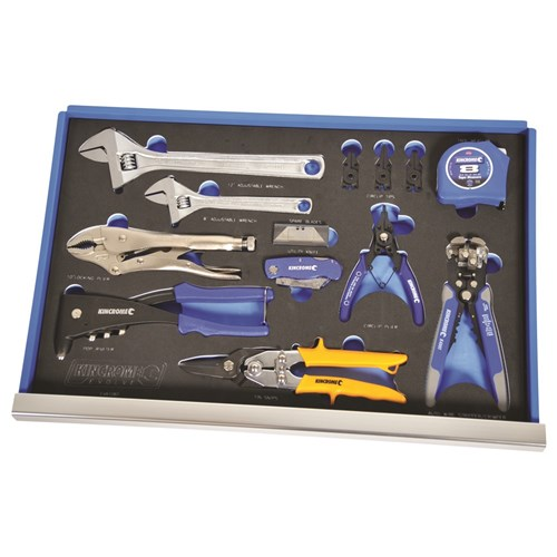 EVA TRAY PLIERS, WRENCHES & KNIFE SET 13 PIECE 1