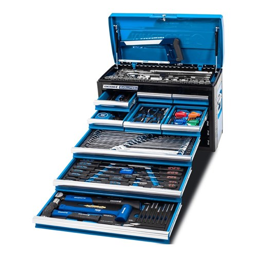 EVOLUTION TOOL CHEST 172 PIECE 9 DRAWER 14, 38 & 12 DRIVE 1