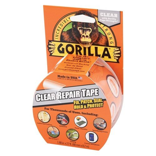 GORILLA CLEAR REPAIR TAPE 8M X 48MM 1