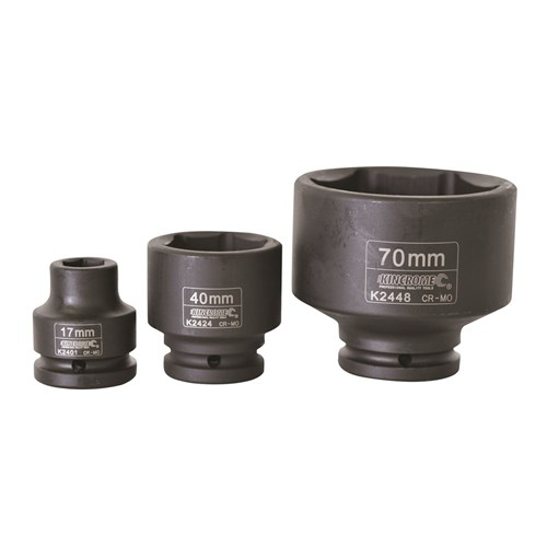 IMPACT SOCKET 17MM 34 DRIVE 1