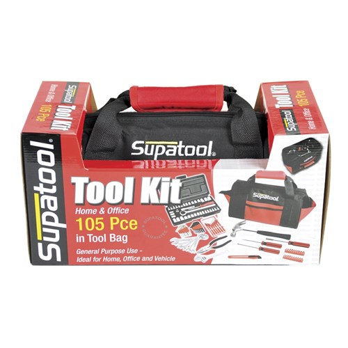 TOOLBAG KIT 105 PIECE 14 DRIVE 1