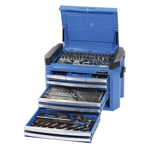 TOOLS ONLY - CONTOUR TOOL CHEST 206 PIECE 14, 38 & 12 DRIVE 1