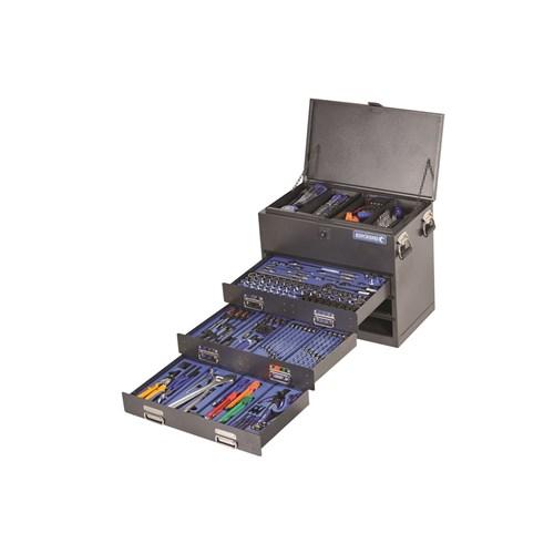 TRUCK BOX TOOL KIT 279 PIECE 14, 38 & 12 DRIVE (black) 1