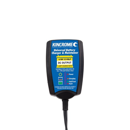 UNIVERSAL BATTERY CHARGER & MAINTAINER 612 VOLT 1 AMP 1