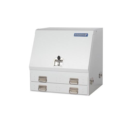 UPRIGHT TRUCK BOX 2 DRAWER WHITE 1