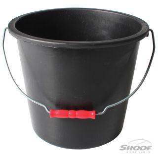 Calf Bucket Plastic Black 9L