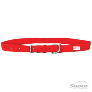 Collar Cow Webbing Red