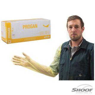 Gloves Exam Genia Progan (Yel)Small 100p