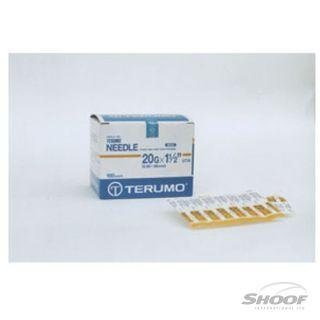 Needles Disp Terumo 18g x 11-2in 100p AU