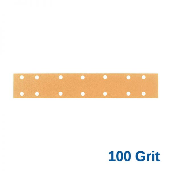 100 Grit Velcro Speed File 70 x 420 x 14 Hole Pack of 50