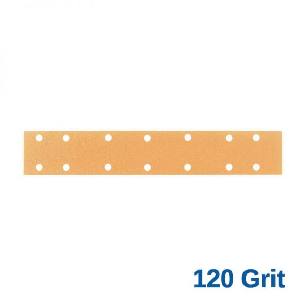 120 Grit Velcro Speed File 70 x 420 x 14 Hole Pack of 50