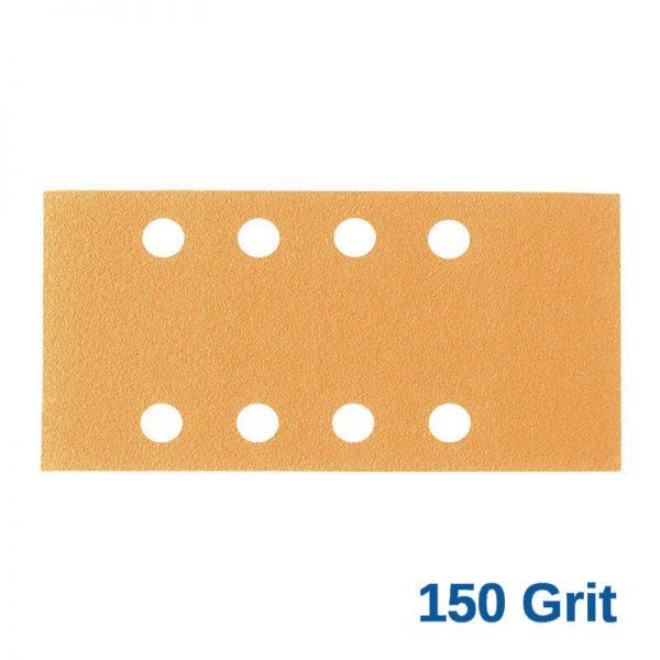 150 Grit Smirdex Velcro 81 x 153mm x 8 Hole