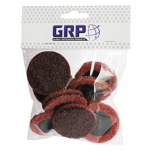 2 Maroon Roloc Surface Prep Disc - Pack of 10