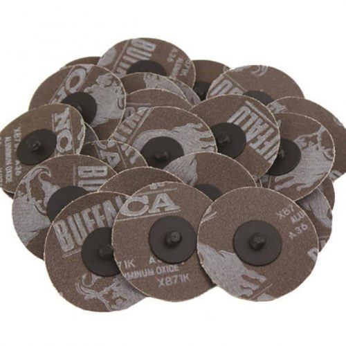 3 Roloc Sanding Disc 24 Grit - 25 Pieces