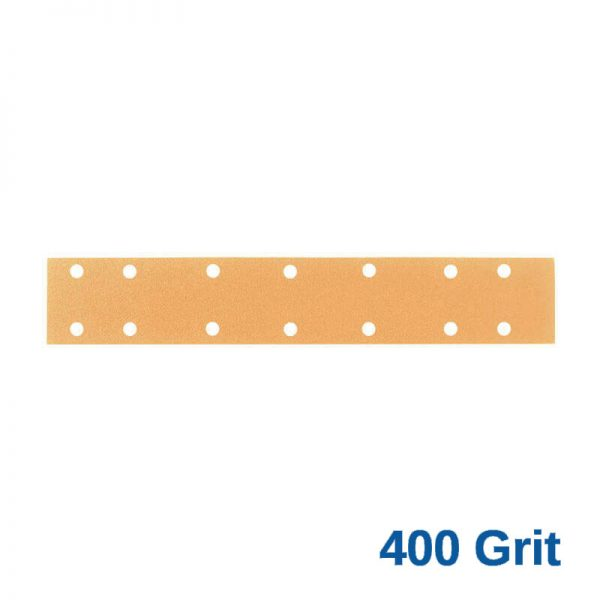 400 Grit Velcro Speed File 70 x 420 x 14 Hole Pack of 50