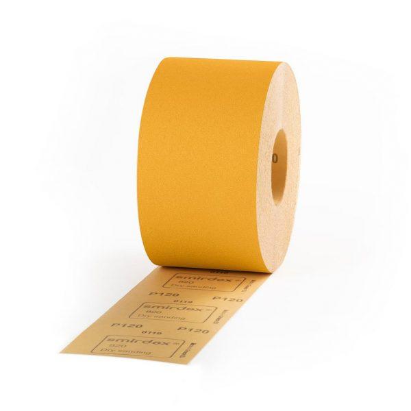 60 Grit Smirdex Velcro Dry Rub Roll 115 x 25mt