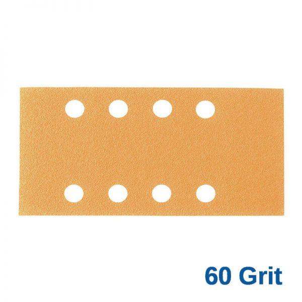 60Grit Smirdex Velcro 81 x 153mm x 8 Hole