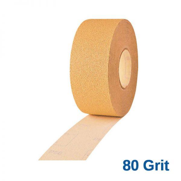 80 Grit Smirdex 820 Speed File Roll 71 x 50mt