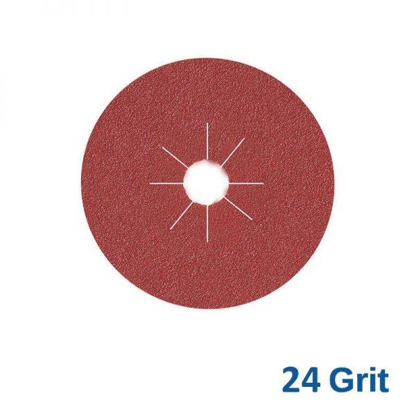 Smirdex Fibre Disc 115mm 24 Grit Pk25