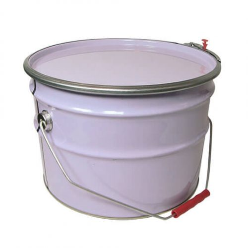 10Lt Metal O-Top Lock Lid No Bung