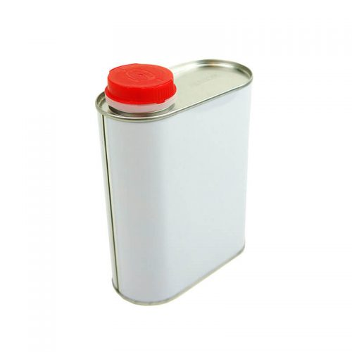 1Lt Metal Solvent Flask Can (96-Ctn)