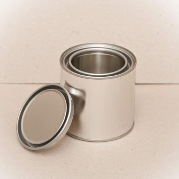 250ml Metal Open Top Can & Lid (180-Ctn)