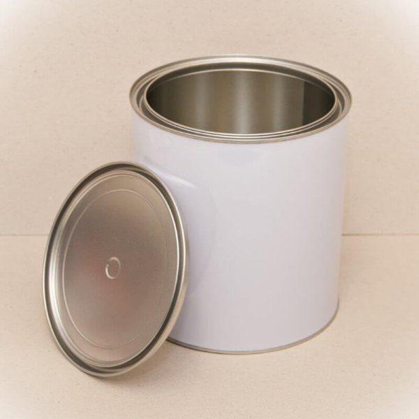 4L Metal Open Top Can & Lid (27-Ctn)