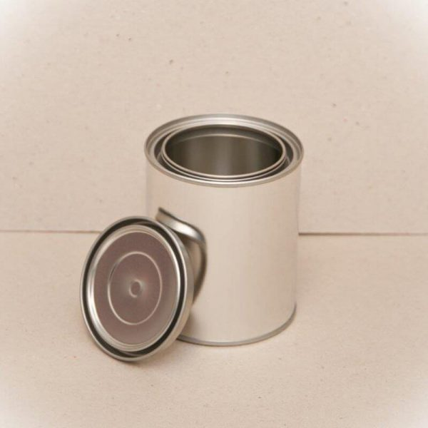 500ml Metal Open Top Can & Lid (180-Ctn)