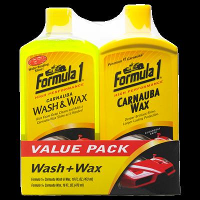 Formula 1 Wash and Wax Multipack