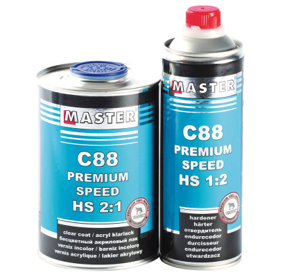 Master C88 Premium HS Speed Clear 2-1 1Lt
