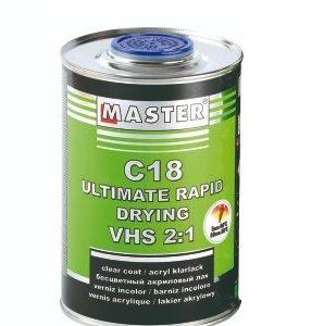 Master Clear Coat C18 2-1 1L