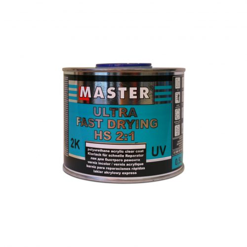 Master Ultra Fast Drying Clear Coat 500ml