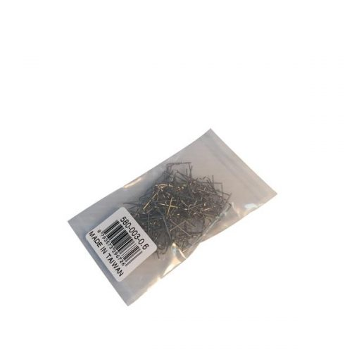 Standard Straight 0.6mm Wave Staples 100Pcs