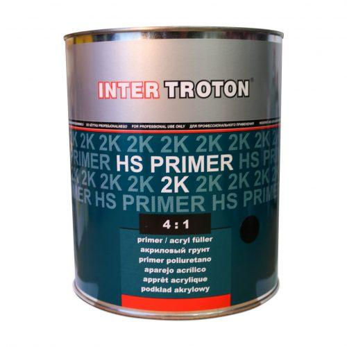 Troton HS Primer Filler Black 4-1 - 3.6Lt
