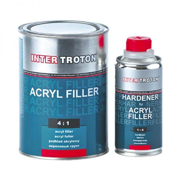 Troton HS Primer-Filler Grey 4-1 Kit 1Lt