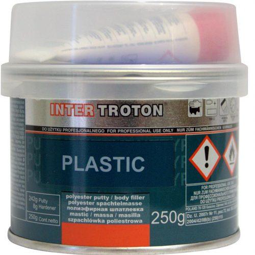 Troton Plastic Filler - Dark Grey 250gm