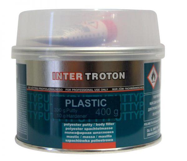 Troton Plastic Filler - Dark Grey 400gm
