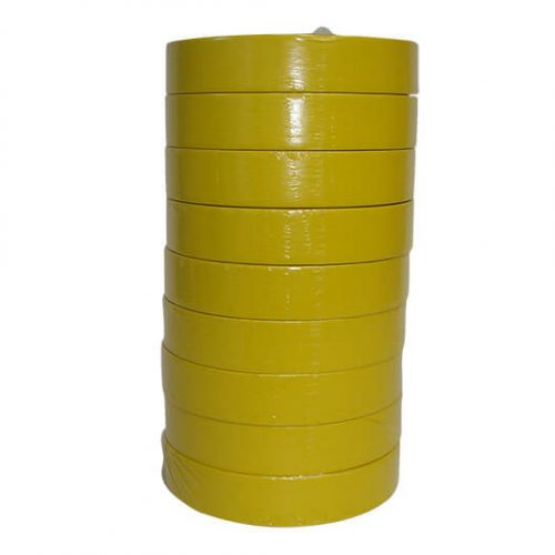 Yellow 24mm 313 Masking Tape - Sleeve 9 Rolls