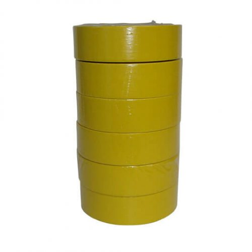 Yellow 36mm 313 Masking Tape - 1 Sleeve 6 Rolls