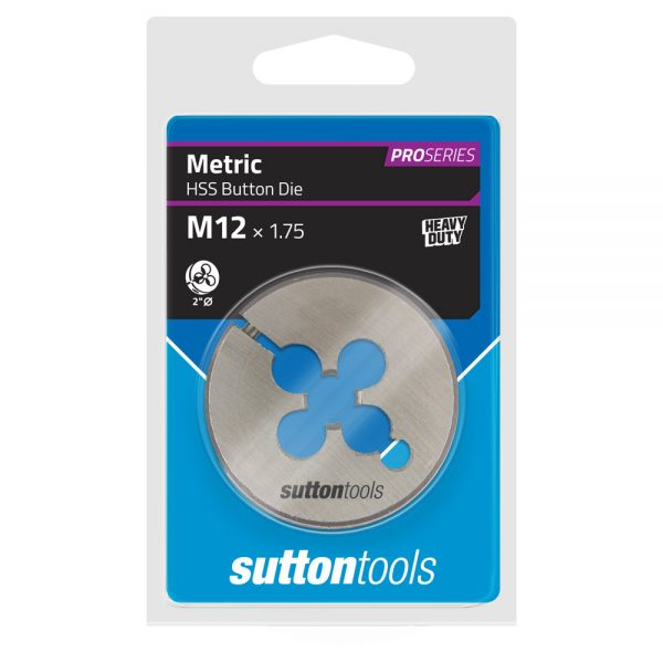 Button Dies – Pro Series – M – 2″ OD