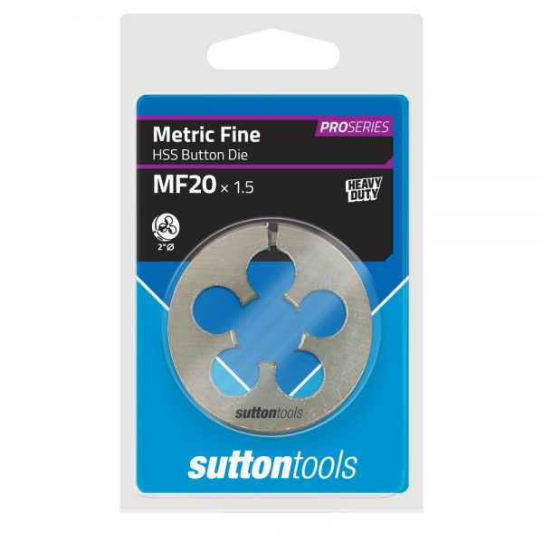 Button Dies – Pro Series – MF – 2″ OD