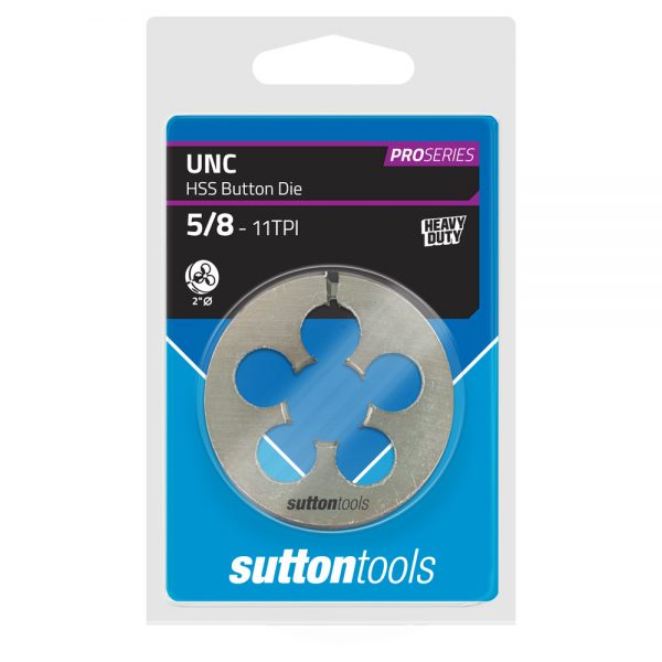 Button Dies – Pro Series – UNC – 2″ OD