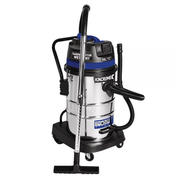 (product) Kincrome Wet & Dry Workshop Vacuum - 50L 240v/1400w